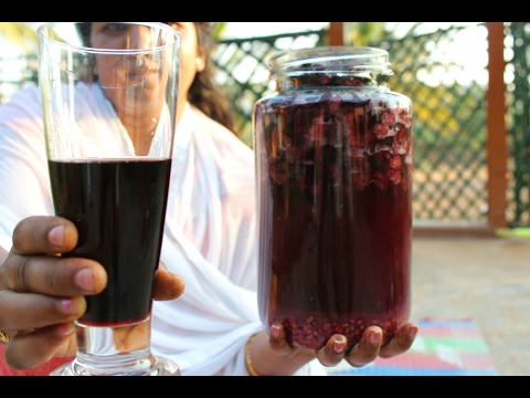 HEALTHY HOME MADE RED WINE | HEALTHY GRAPE WINE | VILLAGE FOOD