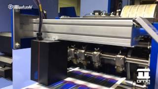 Semi Rotativa Offset UV Impresión Etiquetas Miyakoshi