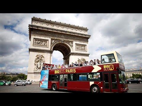 Παρίσι: «Στοπ» στα τουριστικά λεωφορεία