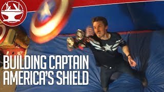 Watch This Genius Make a Fully Functional Captain America Electromagnet Shield