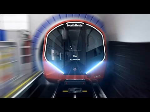 Take a Look at the New Automated Tube Trains in