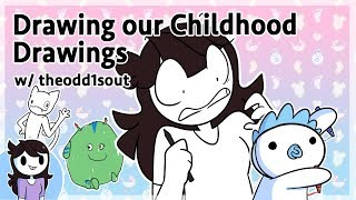 Video Drawing our Childhood Drawings w/ theodd1sout MP3, 3GP, MP4, WEBM, AVI, FLV Februari 2019
