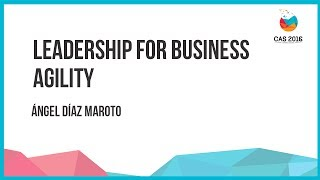 Leadership for business Agility