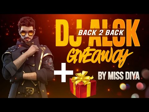 Free Fire Live - Sunday Special DJ Alok + Gifts Giveaway | Thanks To Kunal Sharma Once Again !!