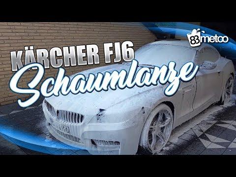 83metoo Kärcher FJ 6 Hochdruckreiniger Schaumdüse Test