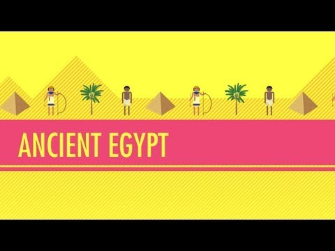 crashcourse - In which John covers the long, long history of ancient Egypt, including the Old, Middle and New Kingdoms, and even a couple of intermediate periods. Learn ab...