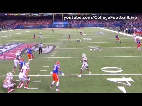 Louisville QB Teddy Bridgewater vs Florida ᴴᴰ
