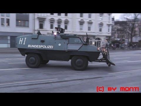 Hamburg 2013: [Straßenschlacht/Krawalle] Großeinsatz  ...