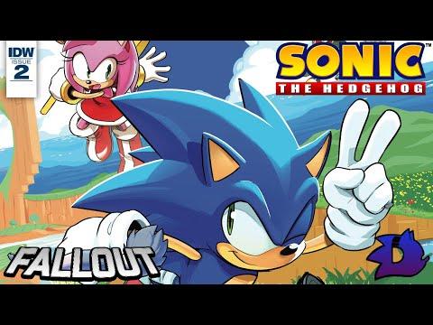 Sonic the Hedgehog (IDW) - Issue #2 Dub