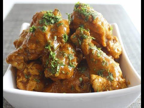 Colombinas de ala al curry