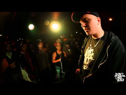 DLTLLY // RAP BATTLE // Brian Damage vs Mighty P