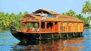Alleppey India  city photos gallery : Alleppey Houseboat Trip - Kerala, India - ആലപ്പുഴ ഹൗസ് ബോട്ട്