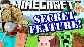 Minecraft SECRET FEATURE in 14w03b Snapshot!