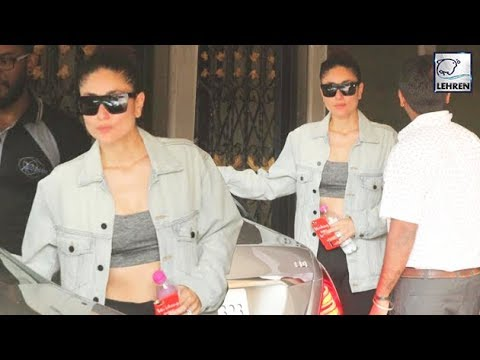 Kareena Kapoor Flaunts Her Abs After Working Out I