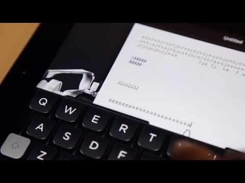 App - Today Tom Hanks' new typewriter app shots to the top of the app store. Launched last week, Hanx Writer turns your iPad into an old-fashioned typewriter, offering a pseudo-analog typing experience...