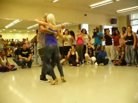 Sexy Blonde Dancing - Really Attractive