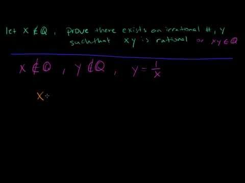 how to prove rational numbers