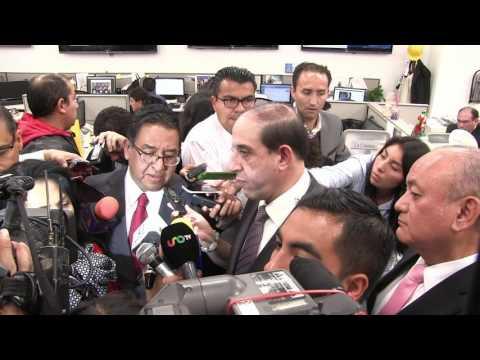 ENTREVISTA QUE CONCEDIERON LOS DIPUTADOS DE LA FRACCIÓN DE HIDALGO