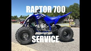 8. How To Yamaha Raptor 700 Oil Change