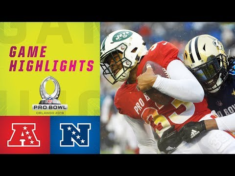 AFC vs. NFC Pro Bowl Highlights   2019 Pro Bowl