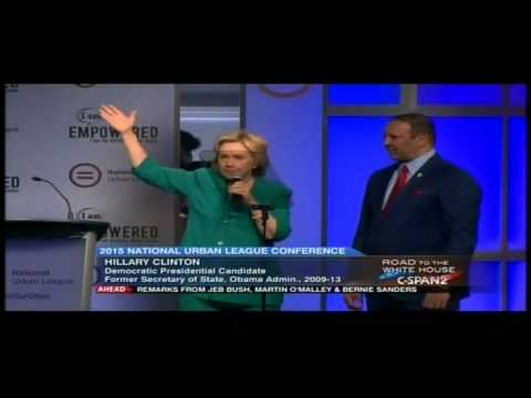 Hillary Clinton laughs when she says she'll be the 'small business president'