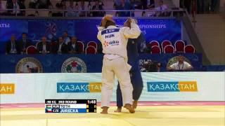 Krisztian Toth (Hungary) vs Alexandr Jurecka (Czech Republic) World Judo Championships 2015 - AstanaJudo - 90kg