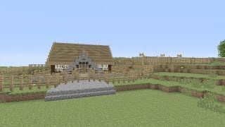 """Minecraft - Awesome Wooden Survival House """"Xbox Edition"""" Ep #1"""