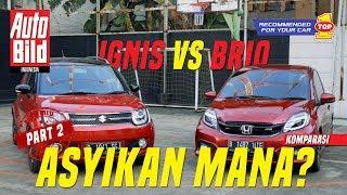 Video Suzuki Ignis GX vs Honda Brio RS | Komparasi | Auto Bild Indonesia Part 2 MP3, 3GP, MP4, WEBM, AVI, FLV Februari 2018