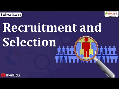 Recruitment - Find 1500+ education videos available at http://www.youtube.com/user/IkenEdu Every company needs employees for performing the different tasks. In this video ...