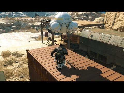 MGS5 - Ep.5: [Over the Fence] - No Traces / Perfect Stealth