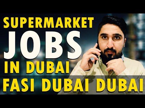 SUPER MARKET JOBS IN DUBAI 💰💰🏙🏙