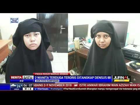 Download Video 2 Wanita Yang Berusaha Masuk Ke Mako Brimob Ditangkap