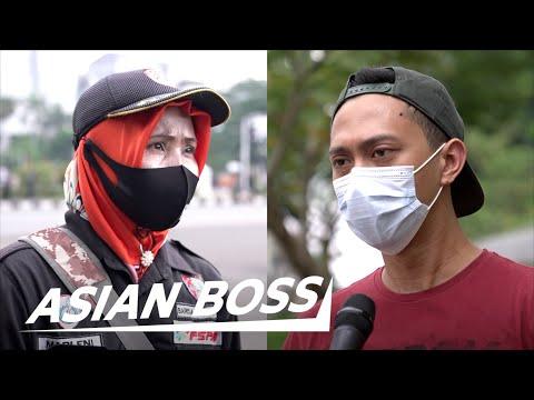 Indonesians Discuss Controversial Job Creation Law [Omnibus Law] | STREET DEBATE