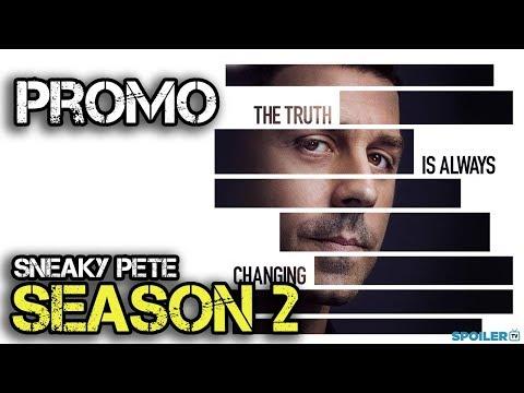 Sneaky Pete  - Season 2 - Official Promo Trailer