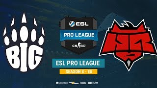 BIG vs HellRaisers - ESL Pro League EU - bo1 - de_dust2 [ceh9]