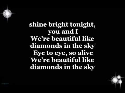 , title : 'Rihanna - Diamonds Lyrics'