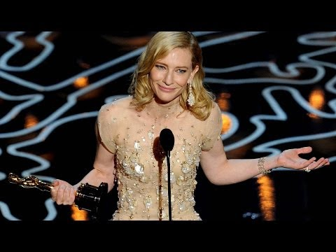 Cate Blanchett Calls Out Julia in Best Actress Oscar Speech