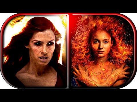 EVOLUTION of JEAN GREY - Dark PHOENIX in MOVIES (2000-2019) X-Men Dark Phoenix 2019 movie scene clip