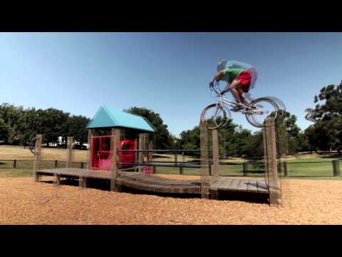 Trials Riding around Melbourne with Joe Brewer