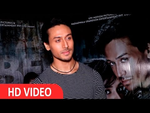 Actor Tiger Shroff At Interview For Success Of Film Baaghi