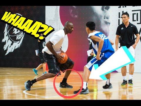 Kobe Bryant Footwork : Kobe Bryant Teaches Footwork And Low Post Moves | Kobe Bryant Training Drills