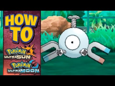 HOW TO GET Magnemite in Pokemon Ultra Sun and Moon (видео)