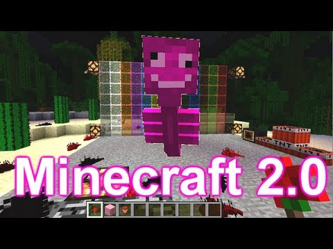 2.0 - Minecraft 2.0 We at the Mindcrack server and a few other selected youtubers got to have a look at minecraft 2.0 before every one els. Thanks Mojang! New thin...