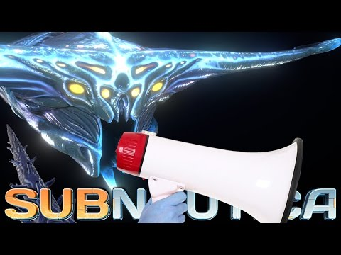 AWESOME GHOST LEVIATHAN SOUNDS, Precursor Teleporter! Subnautica News And Updates (видео)