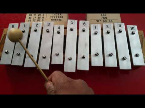 Reliance theme song played in EKIPHONE. A new version of mini Xylophone.