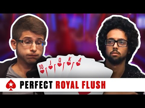 Royal Flush at the 2016 PCA – Huge Three-Way Pot | PokerStars