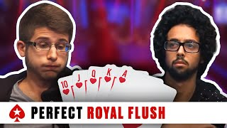 Video Royal Flush at the 2016 PCA - Huge Three-Way Pot | PokerStars MP3, 3GP, MP4, WEBM, AVI, FLV Agustus 2019