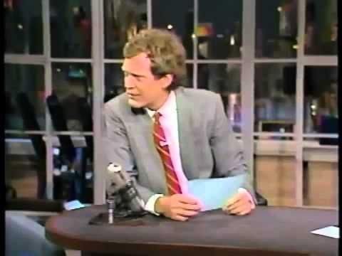 10-16-1986 Letterman Paulina Porizkova Viewer Mail