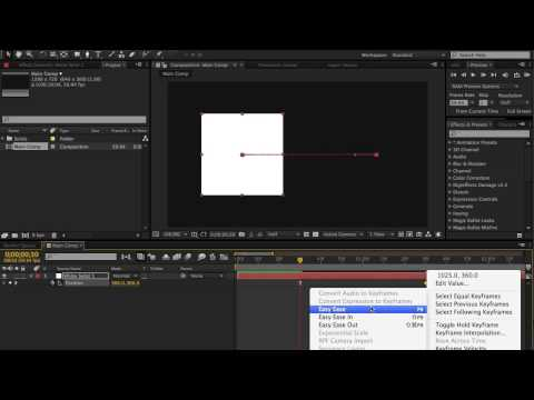 Keyframe Velocity | After Effects Tutorial!