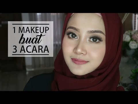 1 MAKEUP LOOK BUAT 3 ACARA | ONE BRAND WARDAH | Linda Kayhz